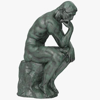 The Thinker Bronze