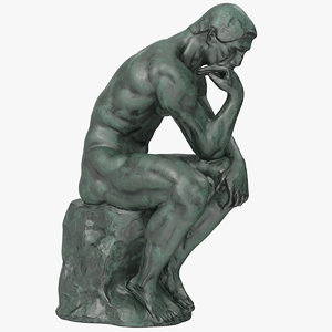 3D model statue sculpture