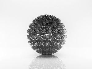 parametric ball 3D model