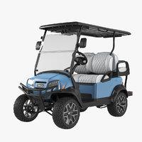 Golf Car Ice Storm