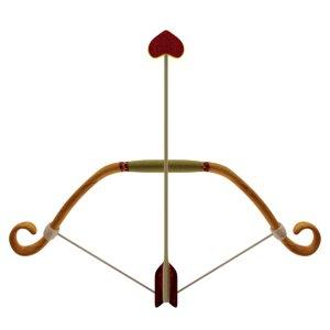 bow arrow cupid model