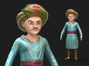 character sultan 3D