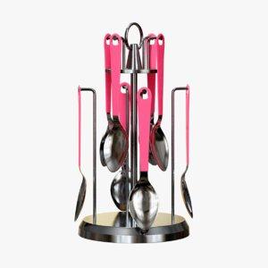 spoon holder 3D model