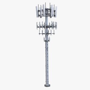 cellular tower 3D model