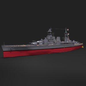 hood battlecrusier 3D model