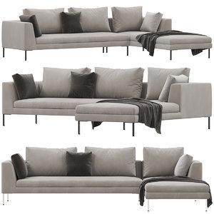 alberta luna sofa model