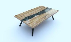 3D model furniture table