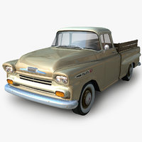 GENERIC Low-Poly Pickup - Truck 2