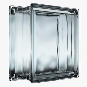 glass block model