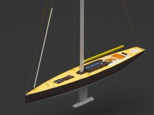 sailboat challenge boat model