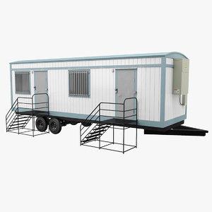 3D mobile office model