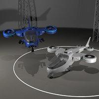 TiltRotor Quadcopter