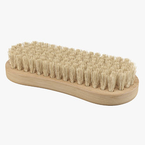 cleaning brush 3D