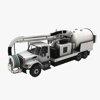 Jetter Truck International 7400