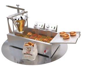 3D donut machine model