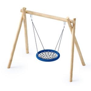 swing nest 3D model