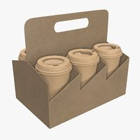 coffee holder cup 3D