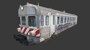 train cp0600 3D model