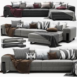 modern sofa 3D