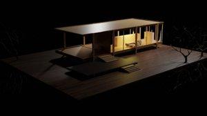 hill house 3D model