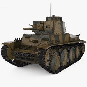38 t panzer 3D model
