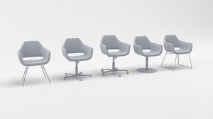 nano deberenn chairs 3D model