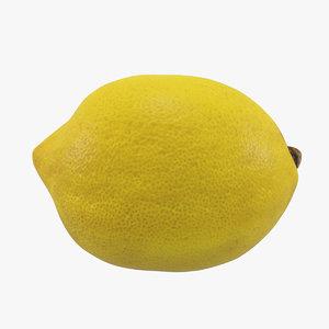 3D lemon scan