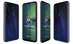 motorola moto g8 dark blue model