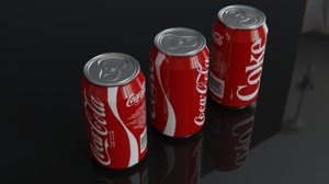 cold-drink can model