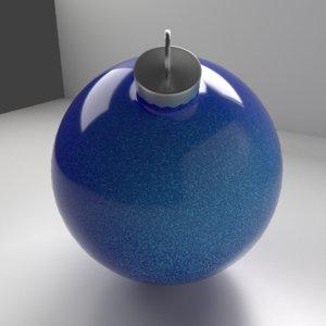 3D model christmas ornament ball 11