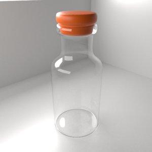3D medicine bottle 2
