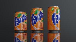 soft-drink 3D model
