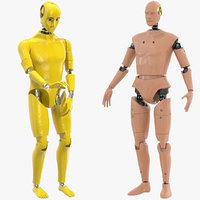 3D crash test dummies 3 model