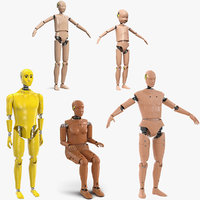 3D crash test dummies 5
