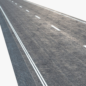 3D model modern road
