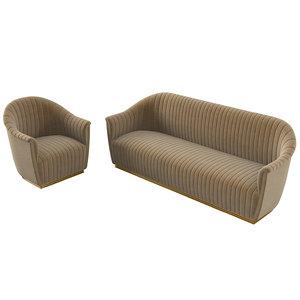 koket mia sofa 3D model