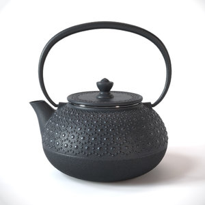 traditional japanese teapot 3D model