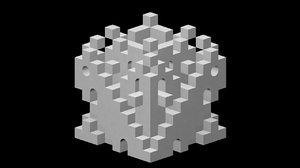 pot maze 3D model