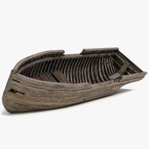 3D shipwreck pbr