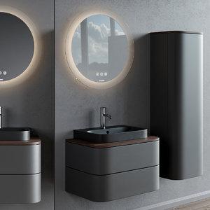 3D model vanity happy d 2