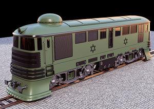 train 3D model