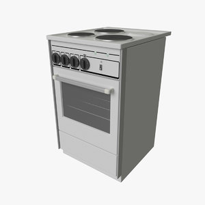 3D electric stove oven