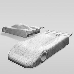 3D car group c variants