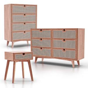 3D marte drawer