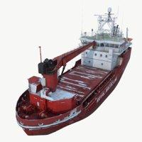 Arctic cargo ship
