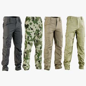3D realistic military pants 1