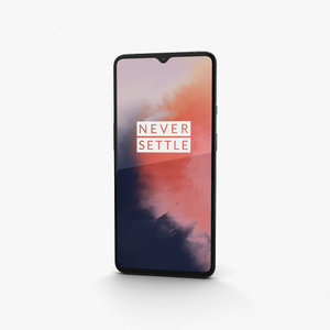 3D model oneplus 7t frosted
