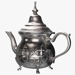 moroccan teapot model
