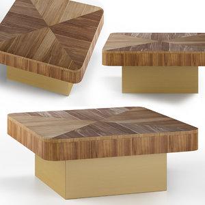 saxo cocktail table furniture 3D model