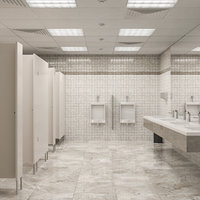 Public Bathroom Interior Scene